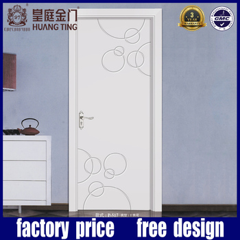 Plain White Door internal hdf plain white wooden bedroom door manufacturer supplier