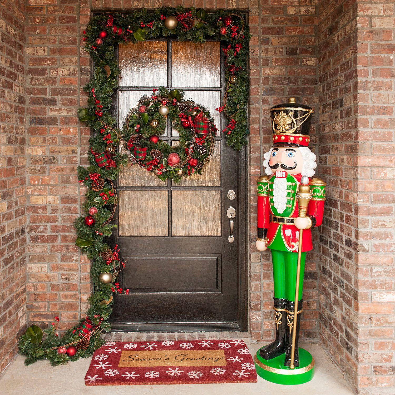 Christmas Statue Decorations: Life Size Outdoor Christmas Decorative Resin Nutcracker