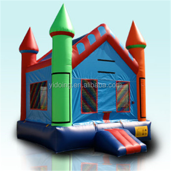 Rainbow inflatable moon bouncer,bounce house B1122