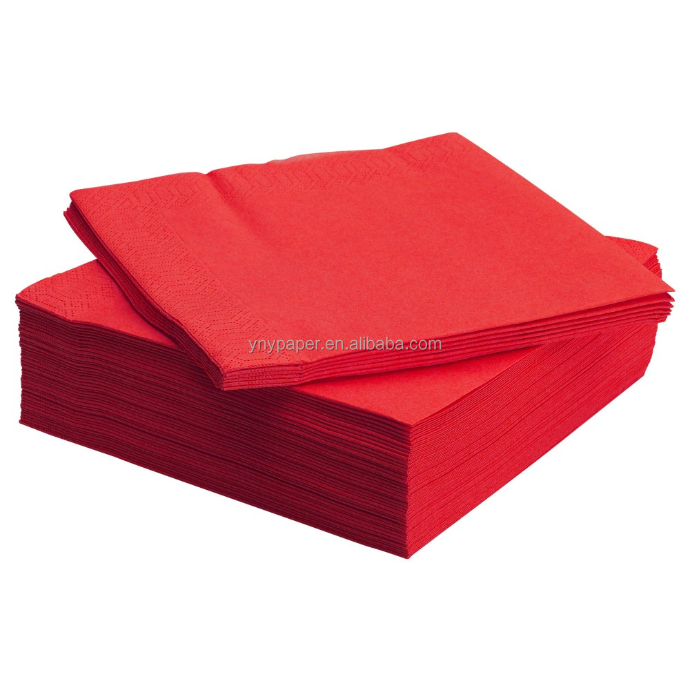 custom personalized printed colored paper napkin