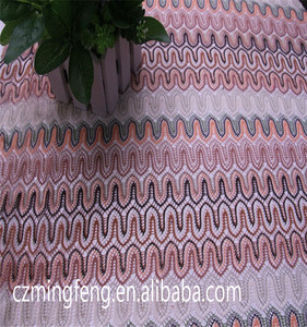 Hot Selling Polyester+Silver Embroidery Lace Fabric for Garment