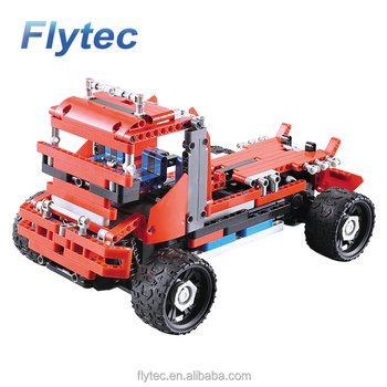 2018 Flytec 2017A-6 RC Car DIY Building Blocks RC Educational Cars Toys For Kids