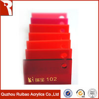 rpoa factory direct sale good quality glow acrylic sheet