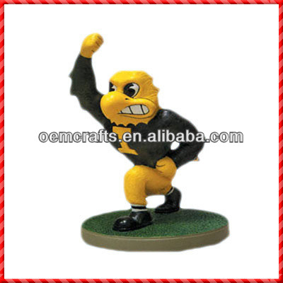 2013 customized resin bobble head figurines