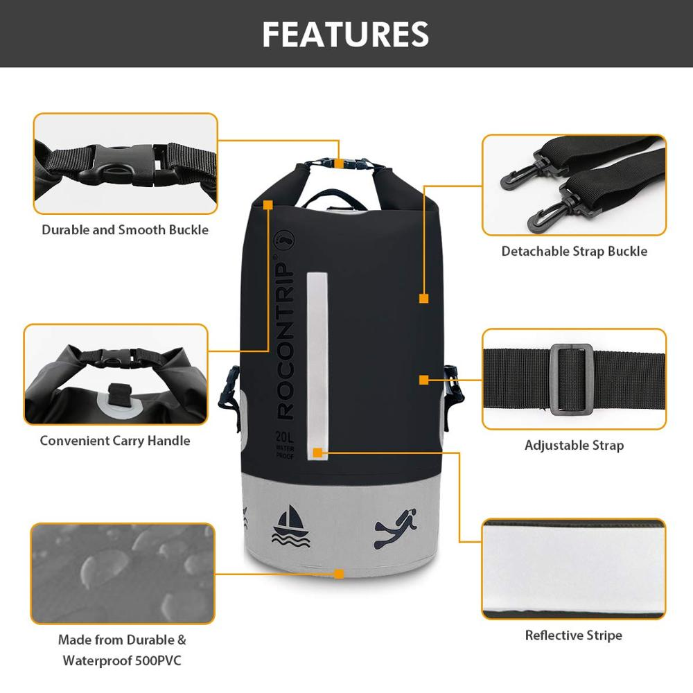 Prosperity floating dry pack backpack for boating-7