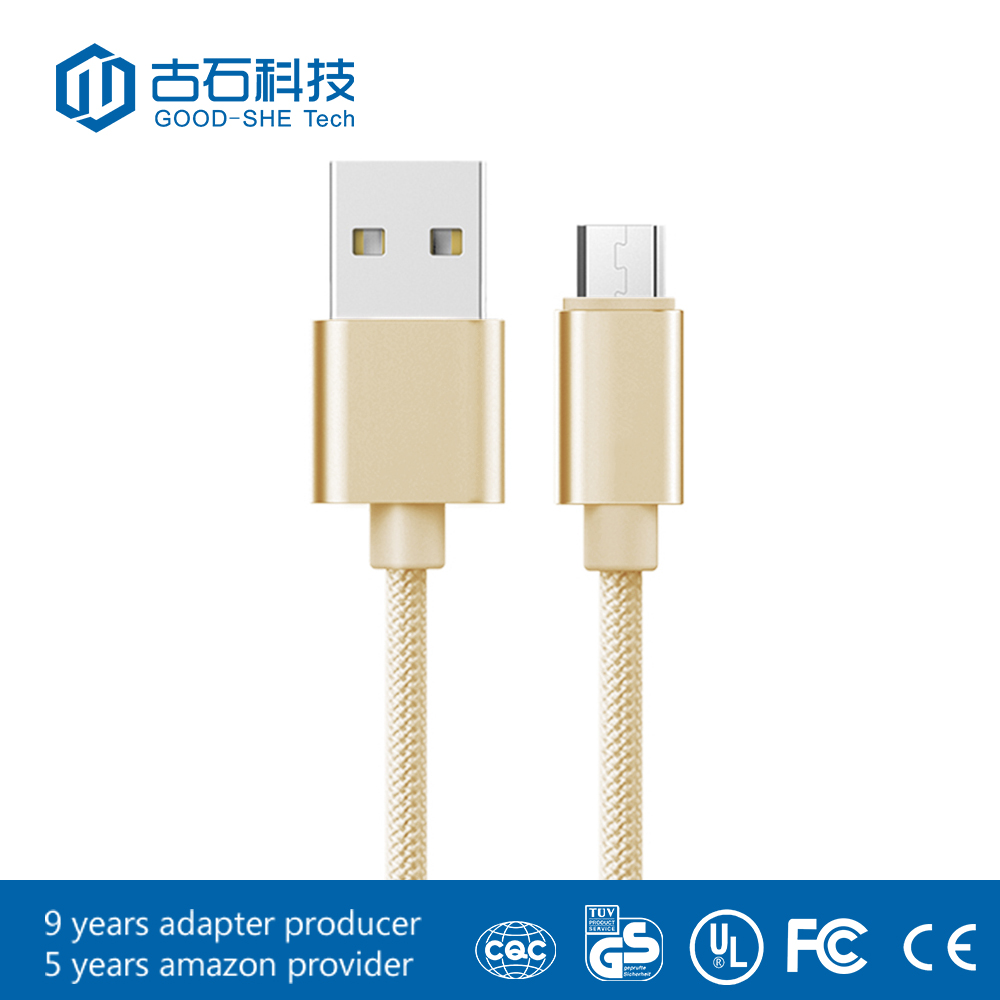 Mobile accessories usb jumper cable braided usb 3.0 transfer cable