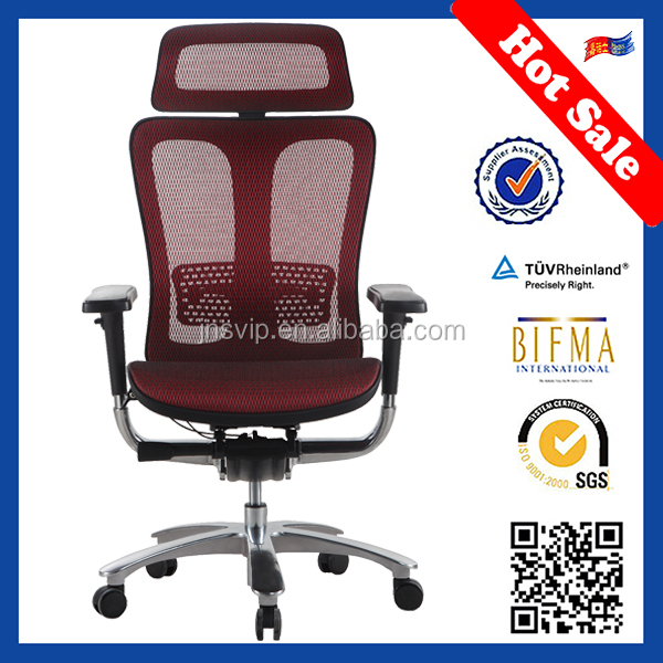 Original Leather Ergonomic Office Chair with back support for Director