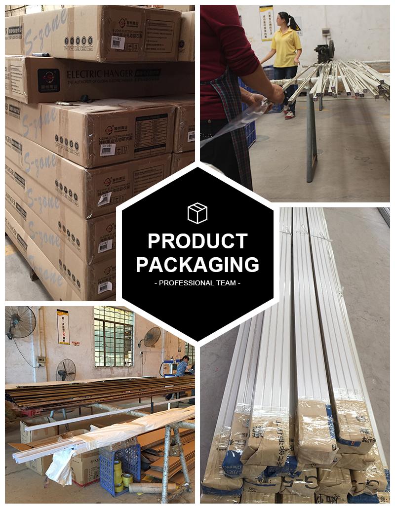 heavy duty flexible bendable electric motorized window curtain drapery track rails