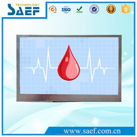 high luminance 7 inch graphic tft lcd capacitive touch screen display 800x480 controller board with rs232 interface