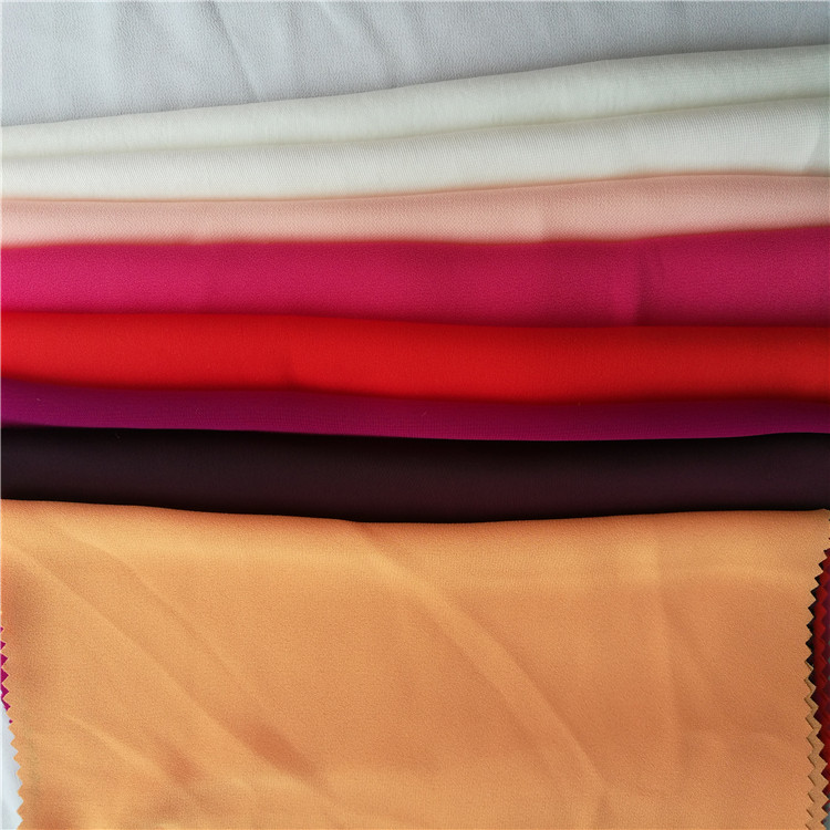 4 way stretch polyester spandex 300 gsm four directions stretch fabric