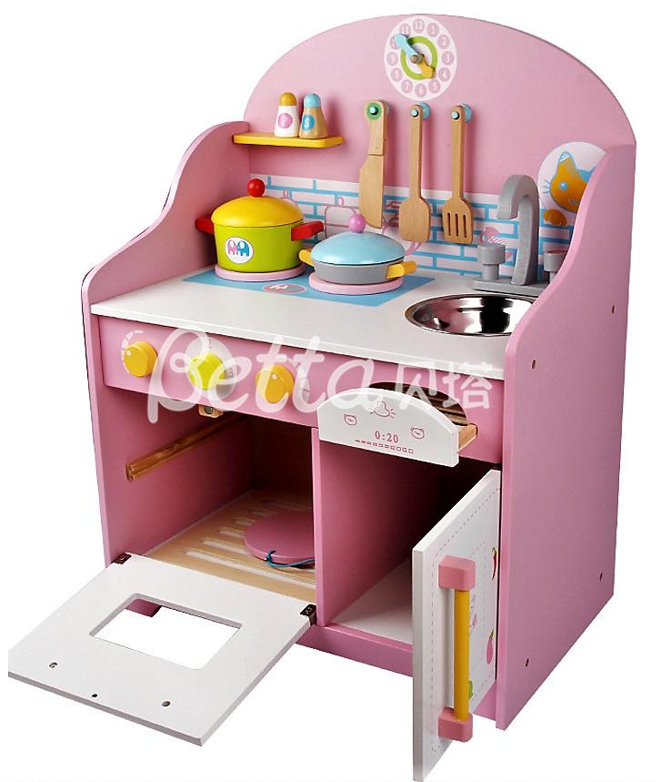 Küche Spielzeug   Holz Kinder Kuche Gesetzt Spielzeug Kinder Pretend Kunststoff