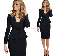 C22184B European Fashion Office Lady Suits Dresses Women Career Skirt Dresses