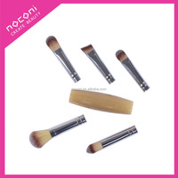 factory manufacturer portable synthetic hair makeup brush set