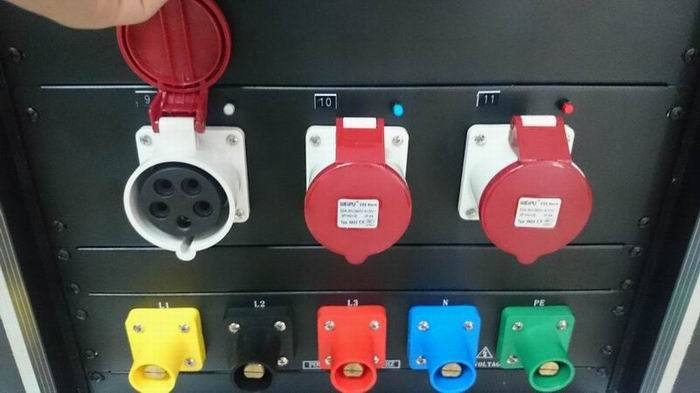 Electrical Box For Stage Lighting System Distribution