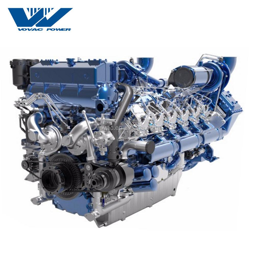 IMO Tier II Emission Standard 900HP BAUDOUIN Marine Engine