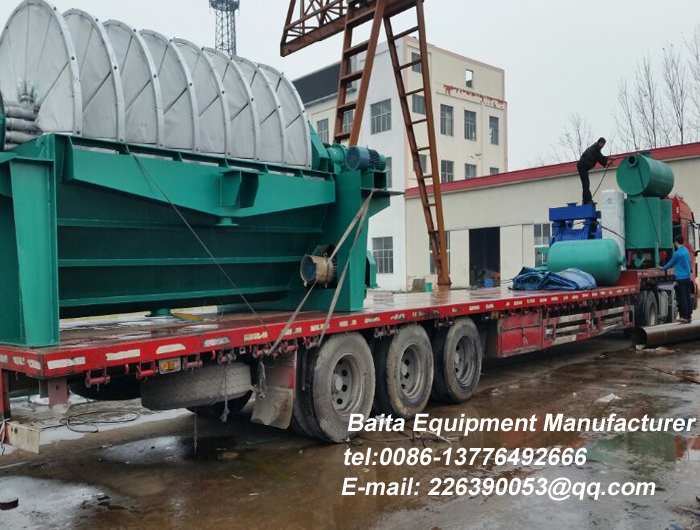 Full-automatic disk vacuum filter ZP series disk filter high-efficiency solid-liquid separation equipment