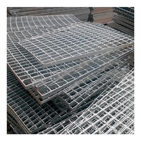 Galvanized walkway grid/steel grating catwalk platform weight