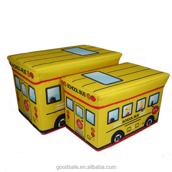 KIDS LARGE TOY STORAGE BOX PADDED SEAT STOOL CHEST FIRE ENGINE CAMPER VAN HAPPY  sc 1 st  Alibaba & 600d!kids Large Toy Storage Box Padded Seat Stool Chest Fire Engine ...