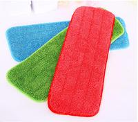 Microfibre Dry mop head Replacement refill Flat Microfiber Mop Pad For Spray Flat Reveal Mops