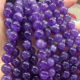 High quality natural stone beads loose gemstone amethyst beads for bracelet making