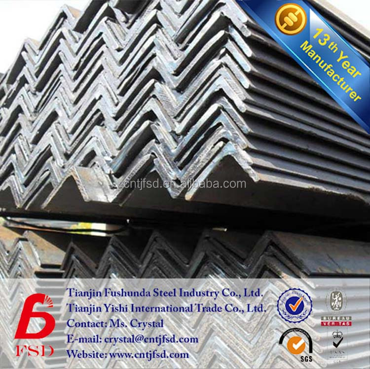 unequal gi galvanized steel angle iron with holes