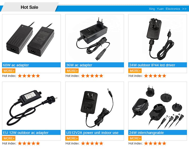 2019 novos produtos de uso boa qualidade 12v 1 amp adaptador de energia DA UE