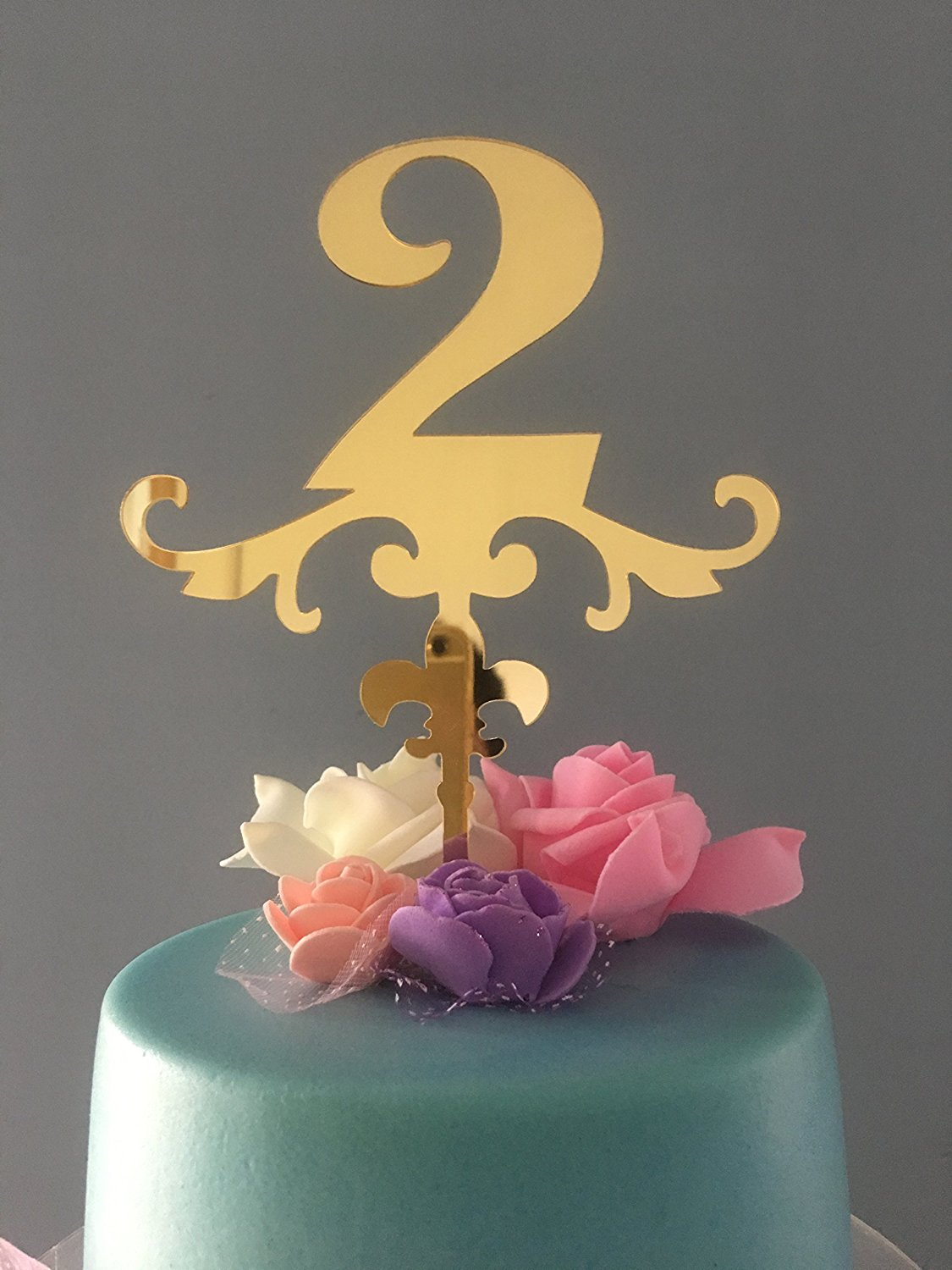 Buy Shinybeauty Birthday Cake Topper 30th Cake Topper Numbers