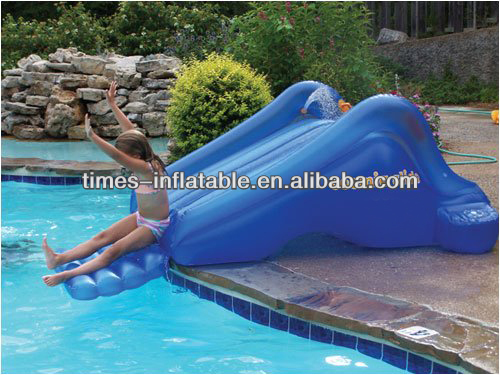 Children's inflatable mini water slide