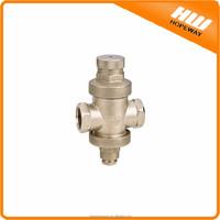 Hopeway Brass Pressure reducer valve for havc heating warm gas boiler NingBo