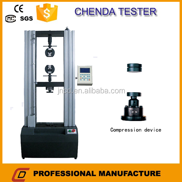 WDS-100KN Digital Display Electronic Universal Testing Machine Floor Model+Measurement Instrument+Rubber Test Equipment