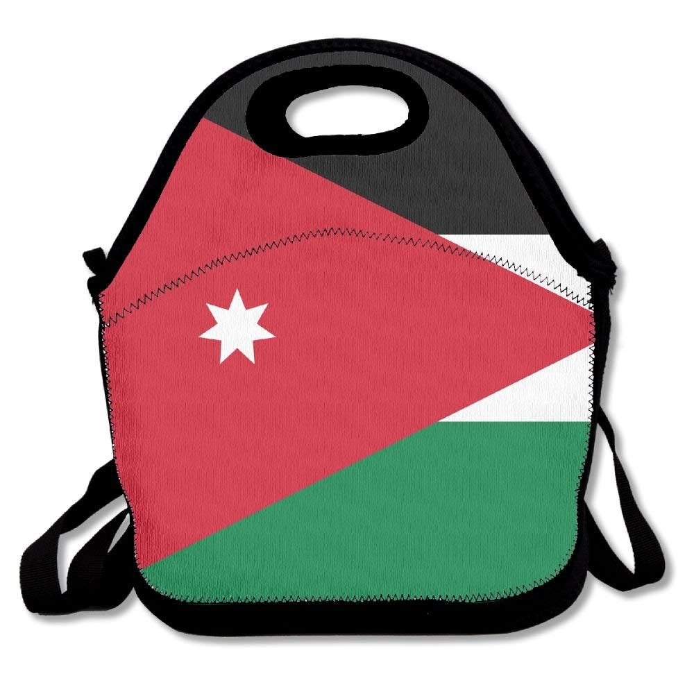 b1adab63480218 Get Quotations · Ghf-LUNCHBAG NATIONAL FLAG OF JORDAN Lunch Bag Insulated  Lunch Box