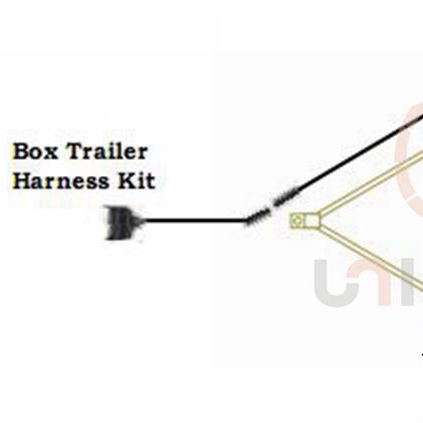 7-pin Trailer Wiring Harness Plug Connector - Buy Auto Wiring Harness,Tractor on