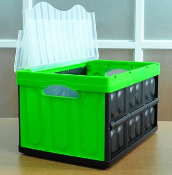 Custom Folding Plastic Storage Box,Home Decorative Multipurpose Foldable Storage  Box With Lid   Buy Folding Plastic Storage Box,Foldable Storage Box ...