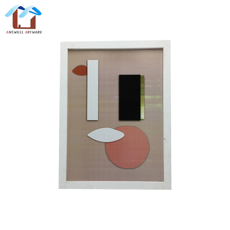 New Cheap Classic Custom Home Hanging Decoration White Acrylic Gift Wooden A4 Picture Photo Frame
