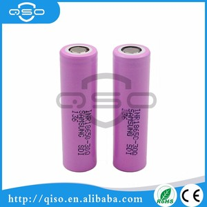 SAMSUNG battery 18650 30Q lion power battery large lithium-ion batteries