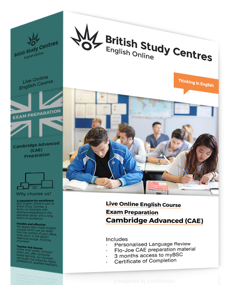 Learn English for CAE: Online Preparation Course with Personal Language Review