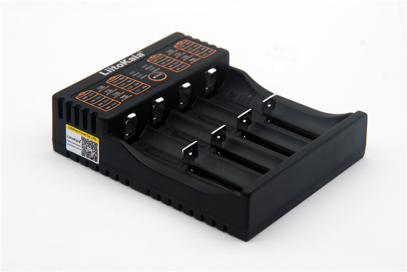 LiitoKala Lii-402 18650 Battery Charger Per 26650 16340 RCR123 14500 LiFePO4 1.2 v Ni-Mh Ni-Cd Batteria Rechareable lii402