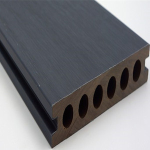 co extrusion composite decking board, wood plastic plank with waterproof shield