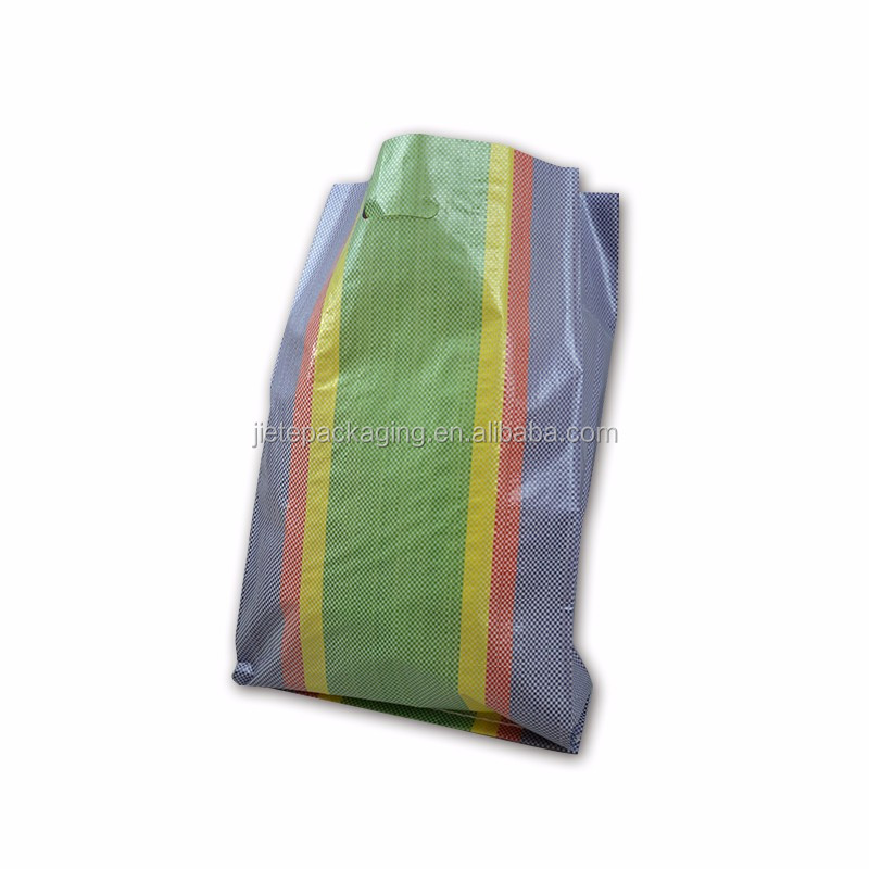 5kg pp woven rice packaging bag with M edge