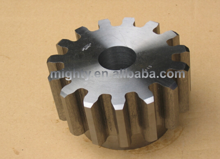 Chines factory professional customized different shape spur gear and shaft