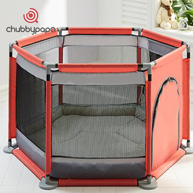 OEM infant folding kids play yard baby playpen for indoor and outdoor