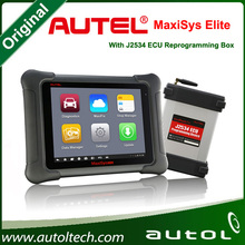 MaxiSys Elite Auto Smart Diagnostic & Analysis Scanner with Unique ergonomic design with rubberized outer protection