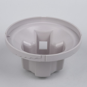 Customized White ABS Injection Plastic Lamp Covers For Lighting Factory Price