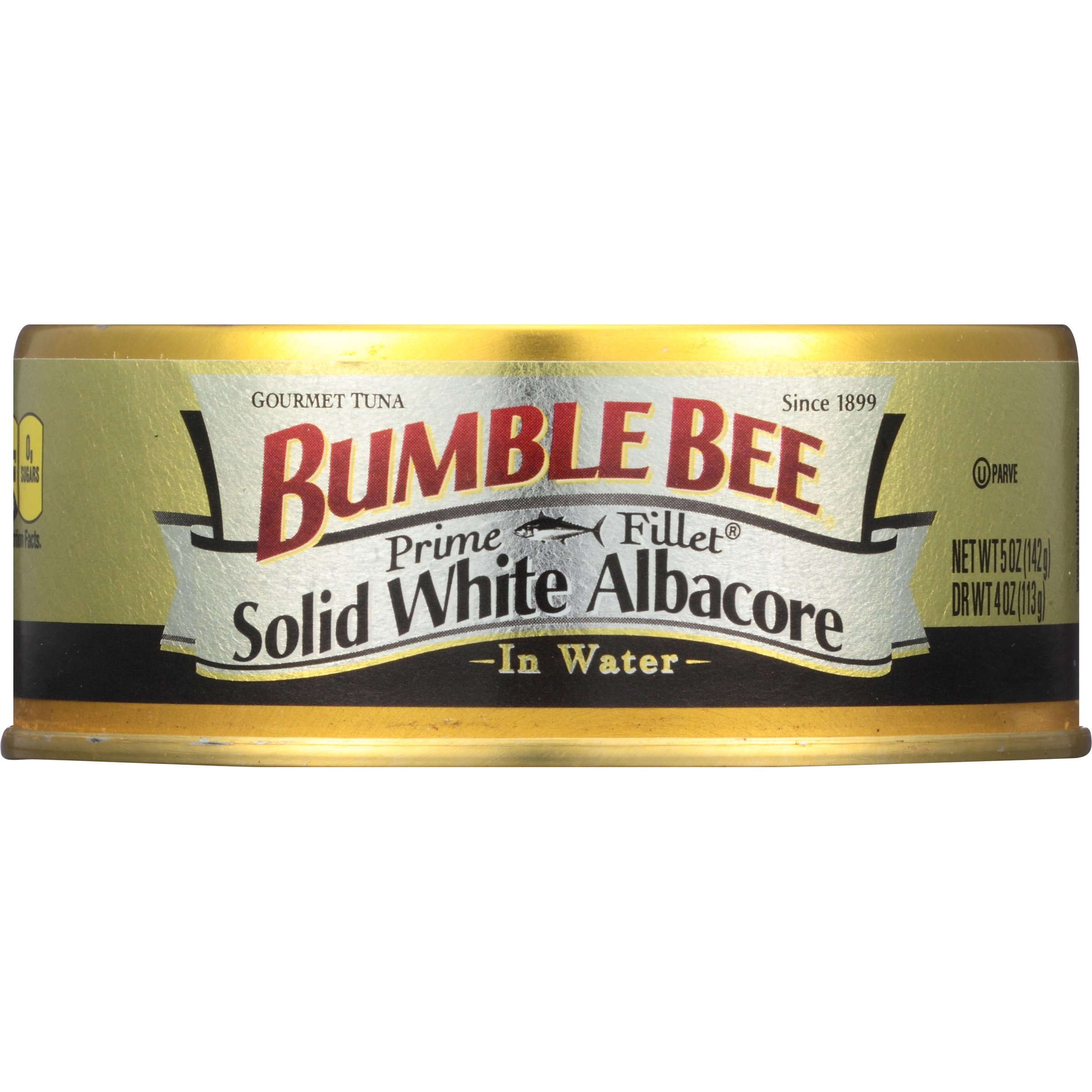 Bumble Bee Prime Fillet Solid White Albacore Tuna in Water, 5oz can