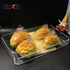 New premium high quality square plastic restaurant acrylic serving tray