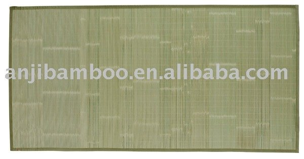bamboo carpet which the width of bamboo salt is 17mm