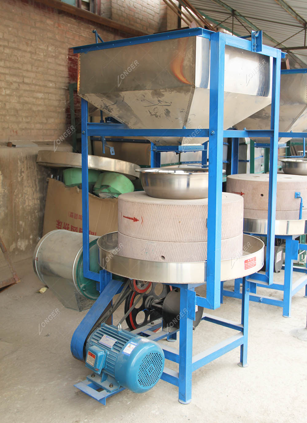 High Quality Mill Flour Stone Rice Grinder Rice Mill Stone ...