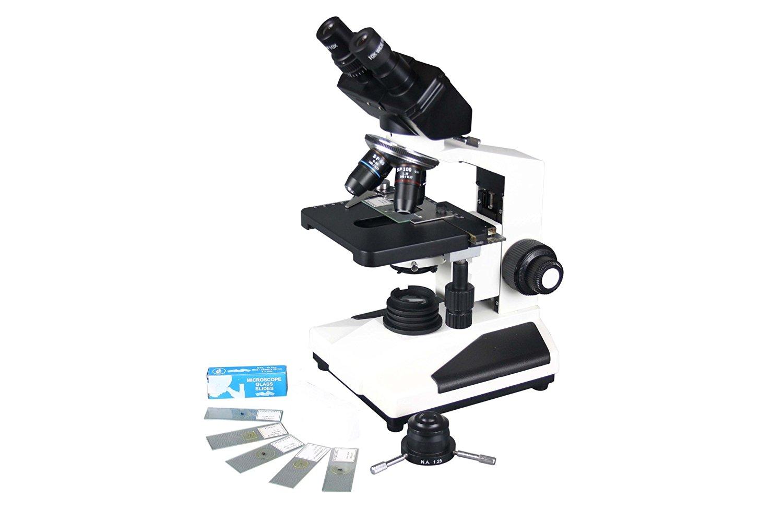 Radical Trinocular Microscope w Blood Semen Water Phase Contrast and 3Mpix USB PC Live Camera