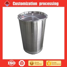 Stainless Steel <span class=keywords><strong>200</strong></span> <span class=keywords><strong>L</strong></span> Stock Pot Penyimpanan <span class=keywords><strong>Drum</strong></span>