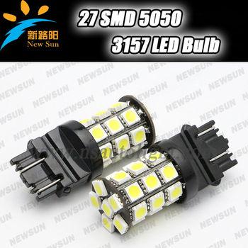 3157 P27/7w 5050 Smd Car Led Brake Light Bulbs 3.6w 12v White Red ...